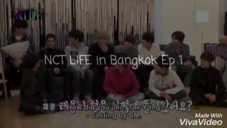 NCT LIFE in Bangkok Episode/Behind Seen Idk what to name this couple.. Taemark? Markyong? sounds weird.. maybe Mark korean name(Minhyung).