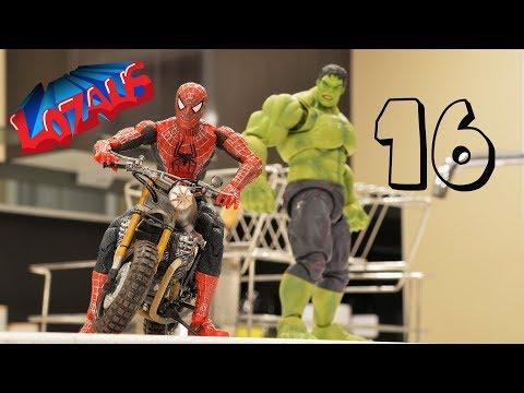 SPIDERMAN STOP MOTION Action Video Part 16 (видео)