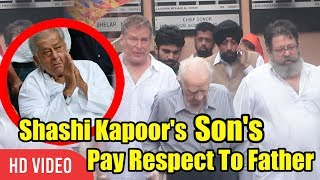Video Shashi Kapoor's Son  Karan And Kunal Kapoor   Shashi Kapoor Funeral MP3, 3GP, MP4, WEBM, AVI, FLV Desember 2017
