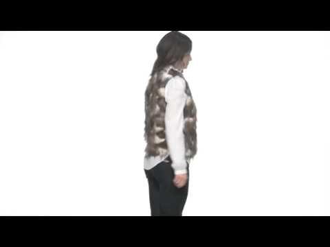 BB Dakota Lexi Faux Fur Vest SKU : # 8048039