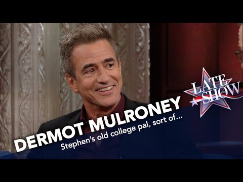 Dermot Mulroney Proves He Was Cooler Than Stephen In College