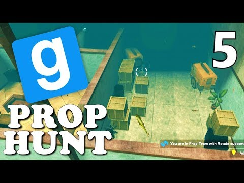 [5] Underwater Map!!! (Gmod Prop Hunt Gameplay)