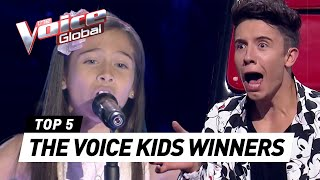 Video BEST WINNERS from all around the world in The Voice Kids [PART 5] MP3, 3GP, MP4, WEBM, AVI, FLV Oktober 2018