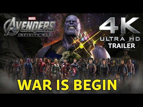 Avengers Infinity War  4K ULTRA HD Trailer 2018 mp4