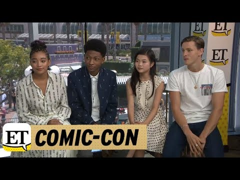 Comic-Con 2018: The Cast of The Darkest Minds Explain Their Character's Powers