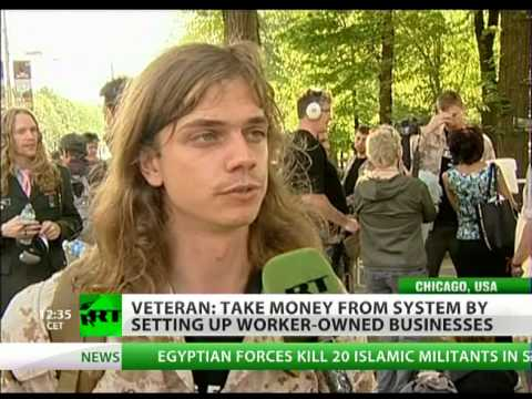 ows - RT's Anastasia Churkina talks to Occupy activist and war veteran Scott Olsen on the state of affairs in the US today and the changes that have taken place si...