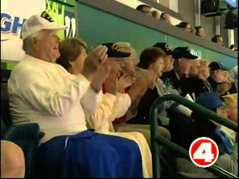Everblades honor veterans with patriotic jerseys