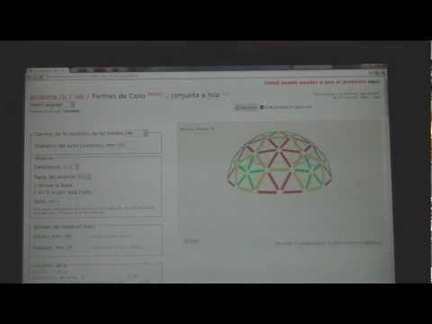 Como calcular un Domo Geodésico