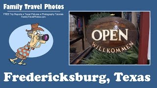 Fredericksburg (TX) United States  city images : Fredericksburg Texas Weekend Vacation 2015 - Wine, Pioneer Museum, B&B Review and Trip Report
