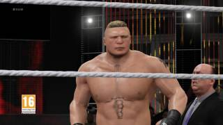 Entrata di Brock Lesnar