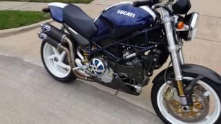 10. 2004 Ducati Monster S4R - Termignoni Exhaust Startup / Walkaround