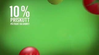REMA 1000 10% Priskutt på frukt og grønt