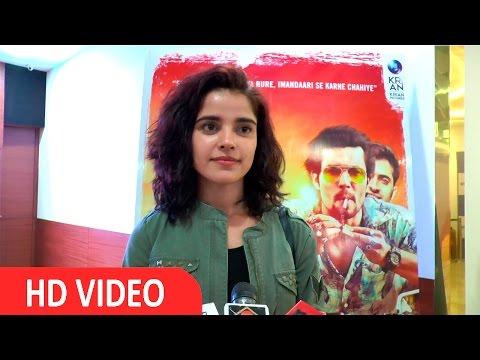 Piaa Bajpai At Screening Of Film Laal Rang