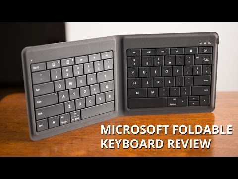 Microsoft Foldable Keyboard Review