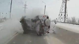 Подборка аварий за третью неделю декабря
