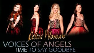 Celtic Woman - Time To Say Goodbye ( English ) | Voices of Angels | with lyrics Video