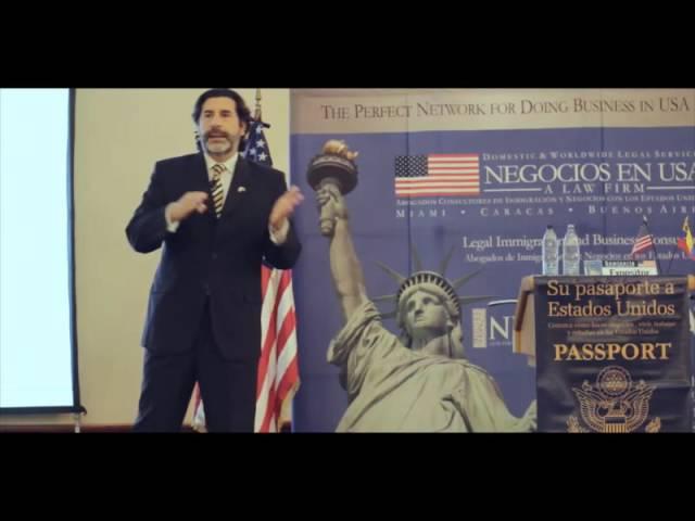 Lic. Roberto Macho, Seminario Negocios en USA - Venezuela 2016