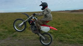 8. Honda Cr125 First Test Drive (after engine install)
