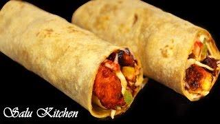 Tasty Chicken BBQ Roll