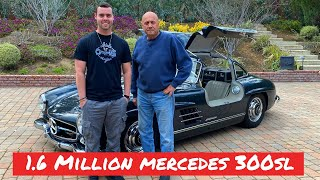 $1.6 MILLION MERCEDES 300SL Ft. Carrol Shelby's Friend Lee! by Vehicle Virgins
