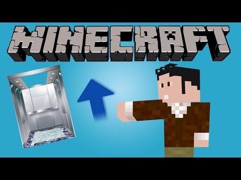 Minecraft'ta Gerçekçi Asansör (Minecraft 1.8)