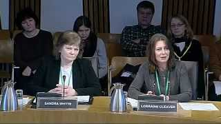 Scottish thyroid patients Sandra Whyte, Marian Dyer and Lorraine Cleaver met with Scottish Parliament on Tuesday, February 5, ...
