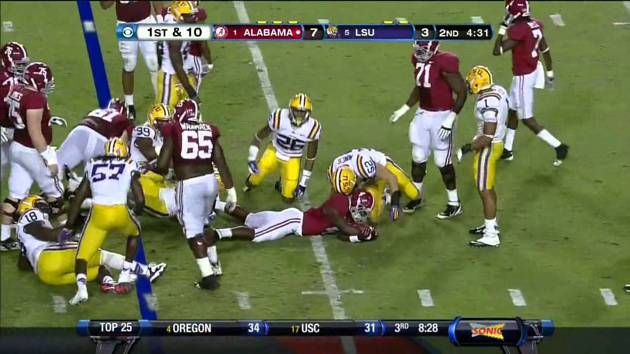 Kevin Minter vs Alabama (2012)
