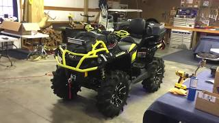 8. My New 2018 Can Am Outlander 1000 XMR