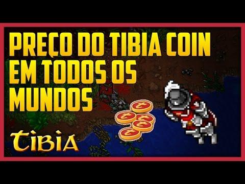 COMO SABER O PREÇO DOS TIBIA COINS EM TODOS OS MUNDOS