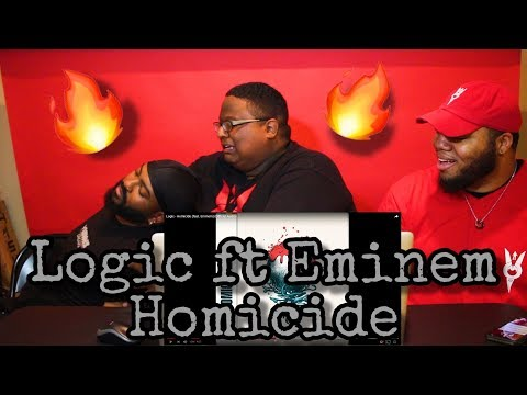 Logic - Homicide (feat. Eminem) (Official Audio) REACTION 🔥