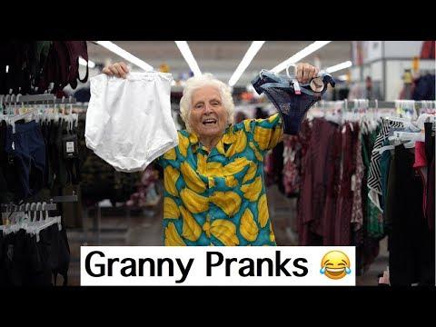 Video Granny Panty Prank!   Ross Smith download in MP3, 3GP, MP4, WEBM, AVI, FLV January 2017