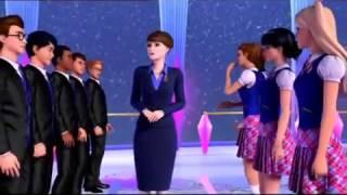 Barbie princess charm school break dancing