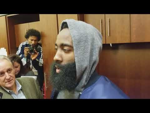 James Harden after Houston's win over Dallas
