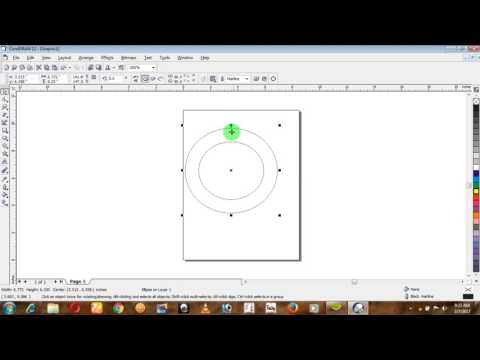 Corel Draw 12 Tool Bar And There Use In Hindi Part 2