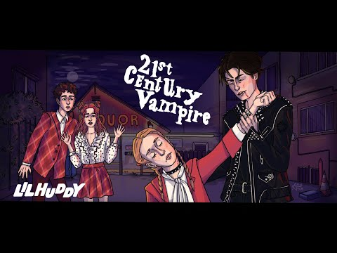 LILHUDDY - 21st Century Vampire (Not Official Lyric Video)