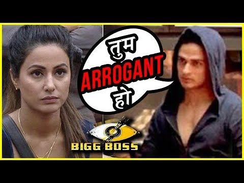Priyank Sharma Calls Hina Khan ARROGANT | Bigg Bos