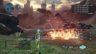 Геймплей Sword Art Online: Fatal Bullet