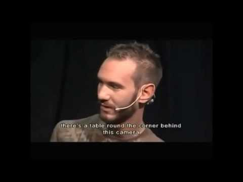 Never give up - Nick Vujicic