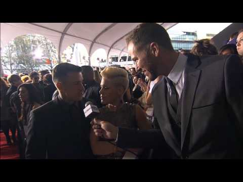 Pink Red Carpet Interview - AMA 2012