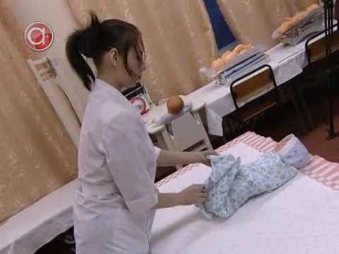 Как пеленать ребёнка