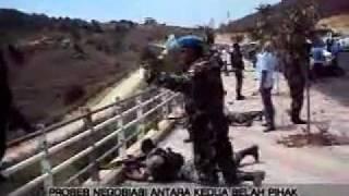 upaya personel INDOBATT untuk menghentikan kegiatan IDF