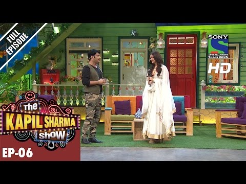 The Kapil Sharma Show - दी कपिल शर्मा शो–Ep-6 -Aishwarya Rai Bachchan in Sarabjit –8th May 2016 (видео)