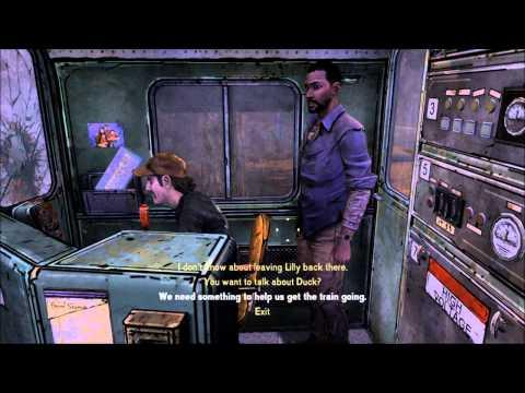 The Walking Dead Walkthrough - Episode 3: Gotta Get This Train Running (Part 4)