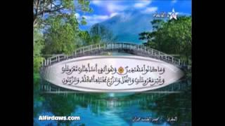 المصحف المرتل الحزب 15 للمقرئ محمد الطيب حمدان HD