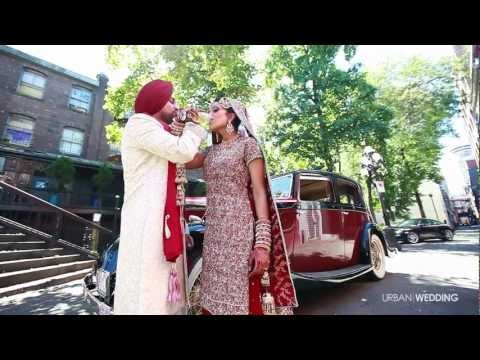 Epic Vancouver Indian Sikh / Hindu Wedding Video 2012