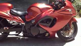 10. 2008 Suzuki Hayabusa Stage I Velocity Turbo Walk-Around