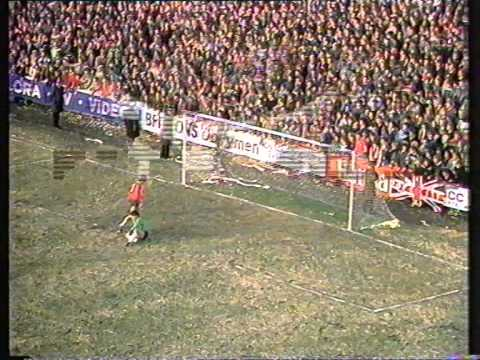 York City 1 Liverpool 1 FA Cup 5th Rd.1985
