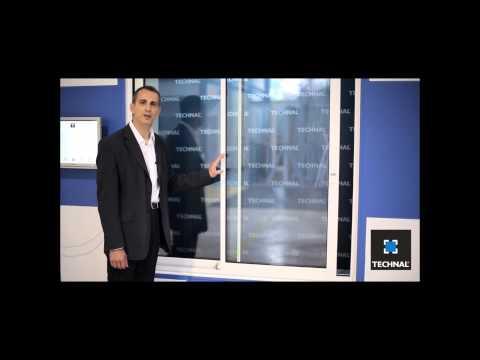 Technal présente sa fenêtre Concept Acoustique Active
