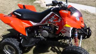 8. Sold! 2008 Polaris KTM 450 MXR, one of my favorite quads of all time