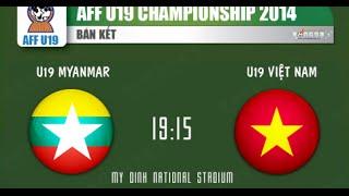 Bán Kết U19 Việt Nam Và U19 Myanmar-phiên Bản Rock: 4-1